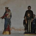 Esculturas María Auxiliadora y San Juan Bosco