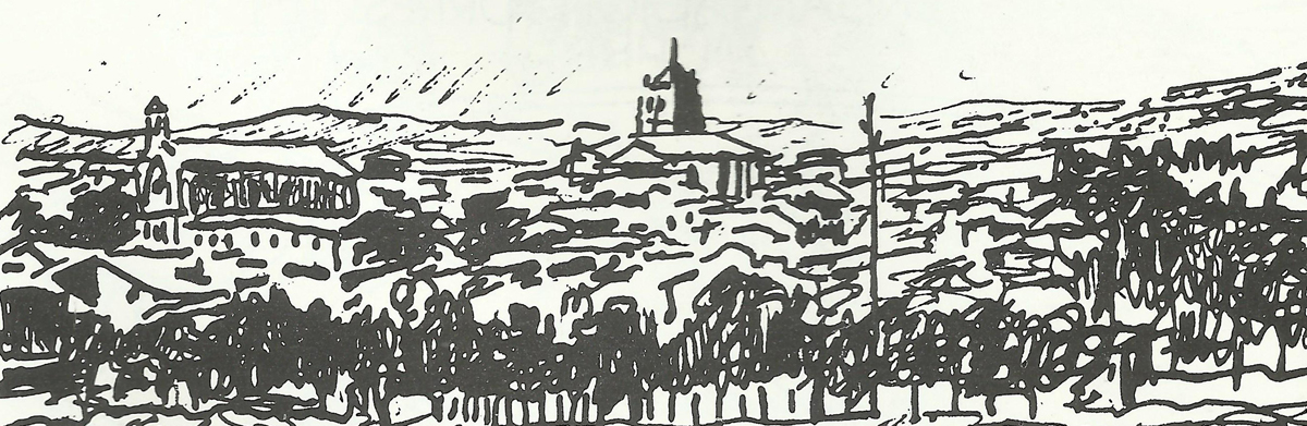 Dibujo Torrelaguna 1960